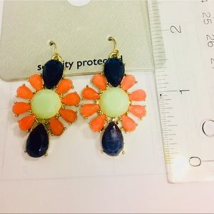 Primary colors banana Republic Statement Earrings